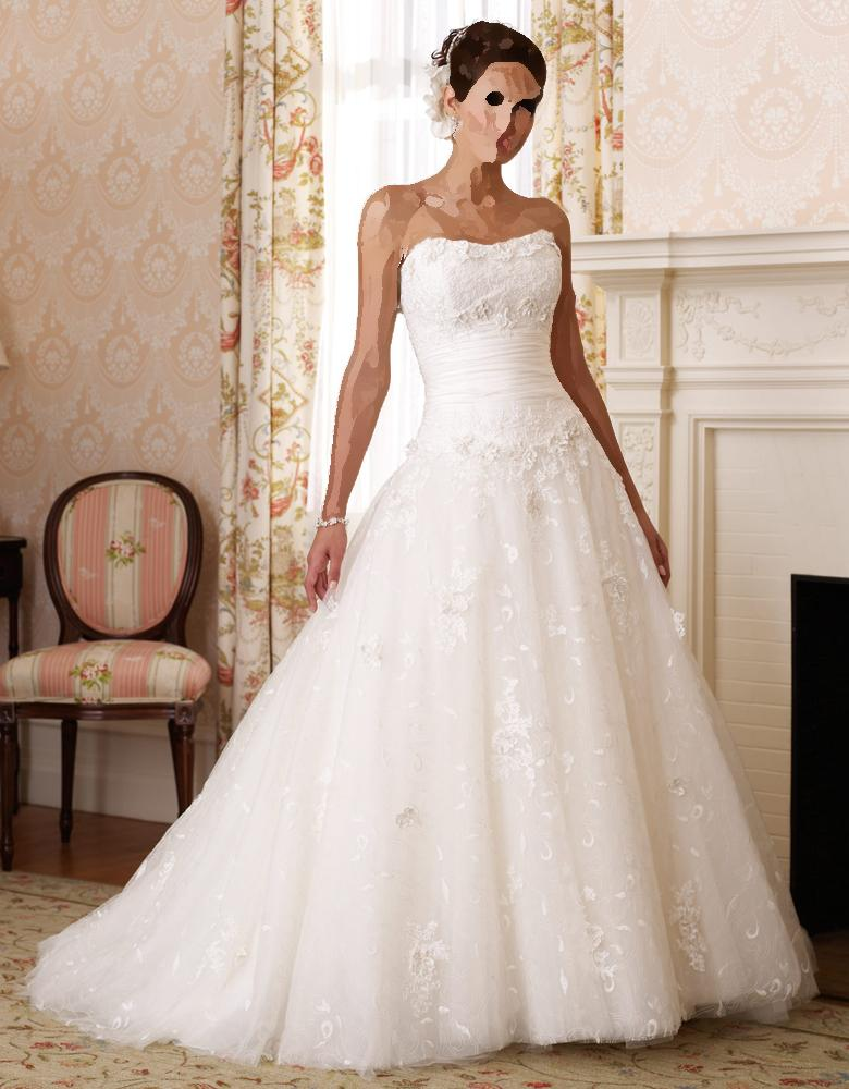 بالصور صور فساتين اعراس , تشكيله فساتين زفاف رائعه 1396 7