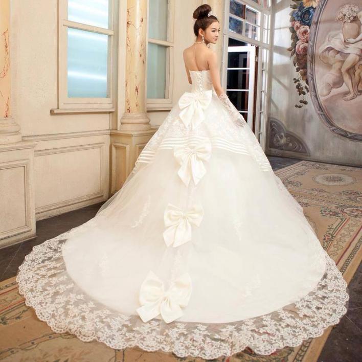 بالصور صور فساتين اعراس , تشكيله فساتين زفاف رائعه 1396 9