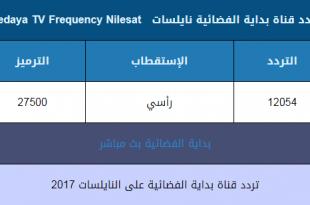 صورة تردد قناة بداية الجديد احدث ترددات قنوات التلفزيون