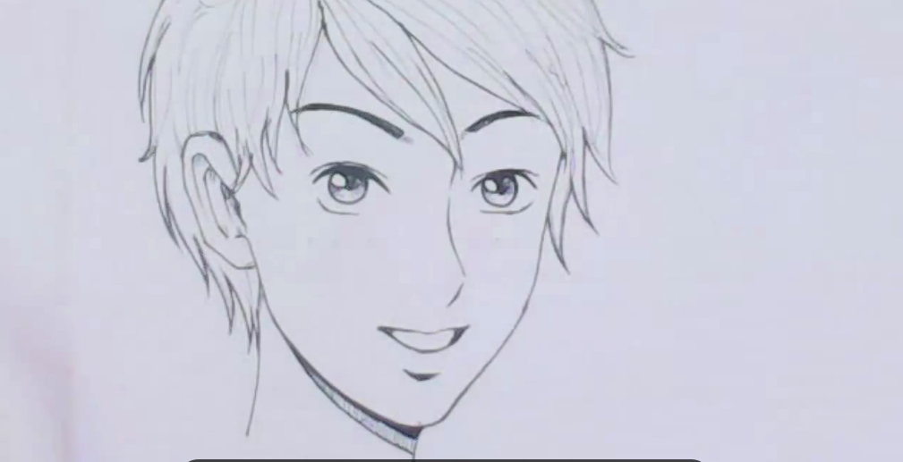 صورة رسم انمي , تعلم رسم الشخصيات الكرتونيه