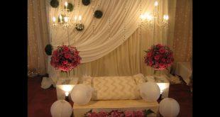 صورة كوشات اعراس , اناقه الكوشه فى يوم الزفاف
