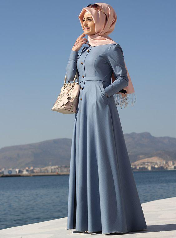 بالصور ملابس محجبات تركية , ثياب تركي غاية في الروعة 3117 7