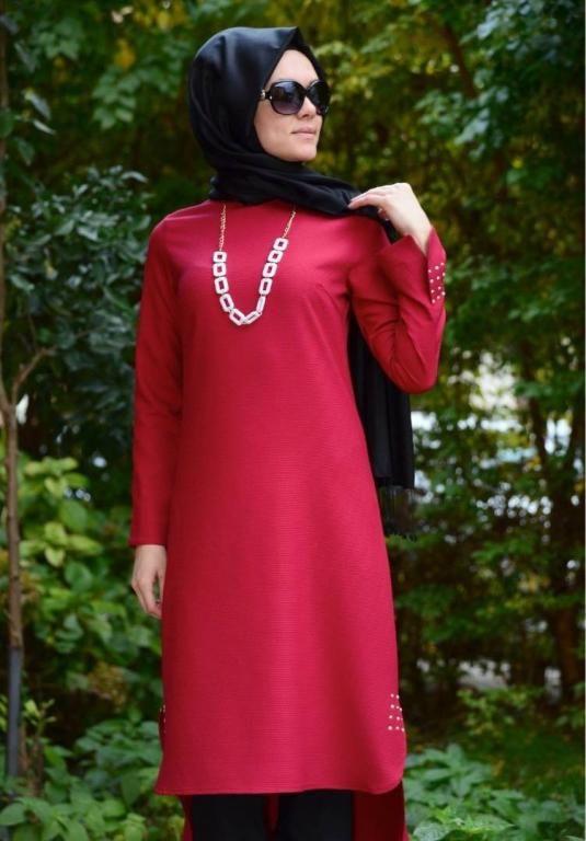 بالصور ملابس محجبات تركية , ثياب تركي غاية في الروعة 3117 9