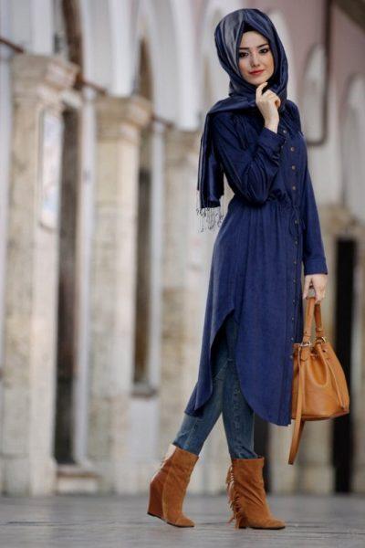 بالصور ملابس محجبات تركية , ثياب تركي غاية في الروعة