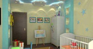 صوره ديكورات جبس غرف نوم اطفال , ديكورات روعة لغرفة اطفالك