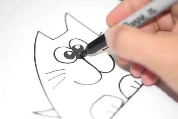 صورة رسومات سهله وحلوه , اجمل الرسومات السهله والبسيطه