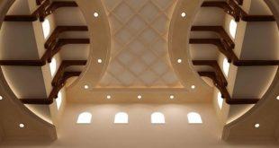 صوره ديكورات جبس اسقف , اسقف مزينه بطريقة رائعه