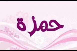 صورة معنى اسم حمزة , اروع المعاني لاسم حمزه