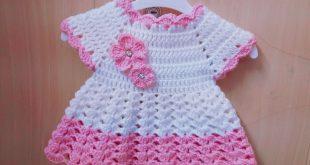 بالصور فساتين اطفال كروشيه , اجمل الفساتين الكروشيه للاطفال 5059 15 310x165
