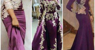 صوره فستان سواريه , احدث تصميمات فساتين سهرة