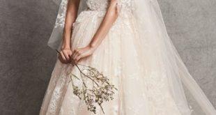 صوره فساتين زفاف زهير مراد 2018 , فساتين الزفاف لزهير مراد والتي تناسب كل الاذواق