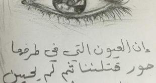 صوره ان العيون التي في طرفها حور , لو كنت اعلم ان الحب يقتلني