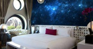 صورة ورق جدران غرف نوم , تصميمات روعة لورق جدران 2019