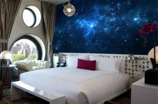 صوره ورق جدران غرف نوم , تصميمات روعة لورق جدران 2019