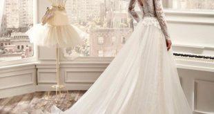 صوره صور فساتين افراح , تصميمات جديدة ورقيقة لفساتين لتكونين ملكة في ليلة زفافك