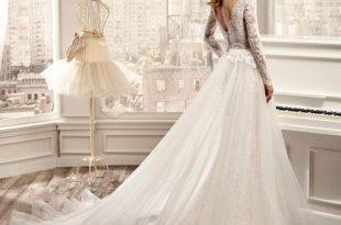 صور صور فساتين افراح , تصميمات جديدة ورقيقة لفساتين لتكونين ملكة في ليلة زفافك