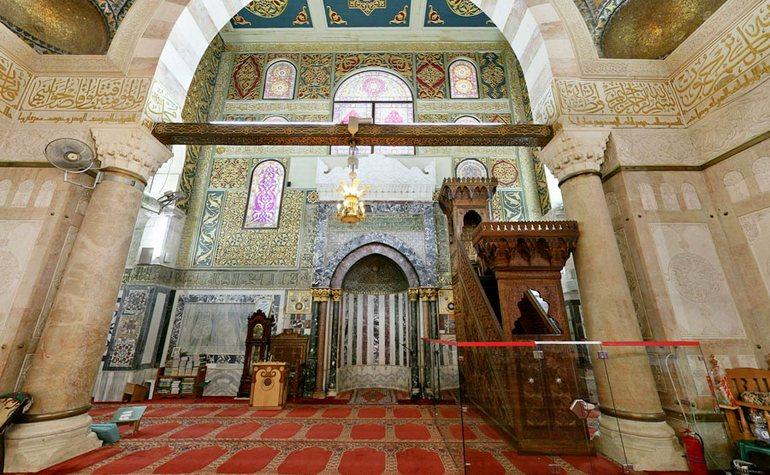 بالصور صور المسجد الاقصى , المسجد الاقصي هو احد اكبر مساجد العالم 1990 14