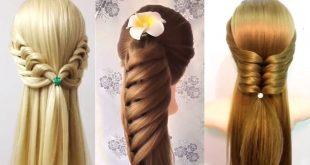 بالصور تسريحات الشعر الطويل , اشكال تسريحات مختلفة للشعر الطويل 2593 2 310x165