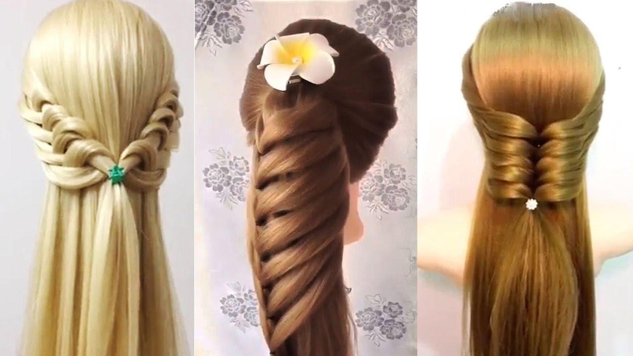 صورة تسريحات الشعر الطويل , اشكال تسريحات مختلفة للشعر الطويل