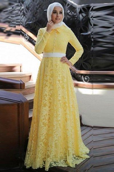 صور اجمل الفساتين للمحجبات , فساتين محجبات حديثة وروعة