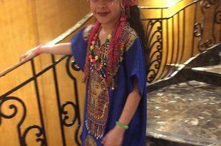 صورة جلابية مصرية , شكل الجلابية المصرية كلبس بيتى جميل