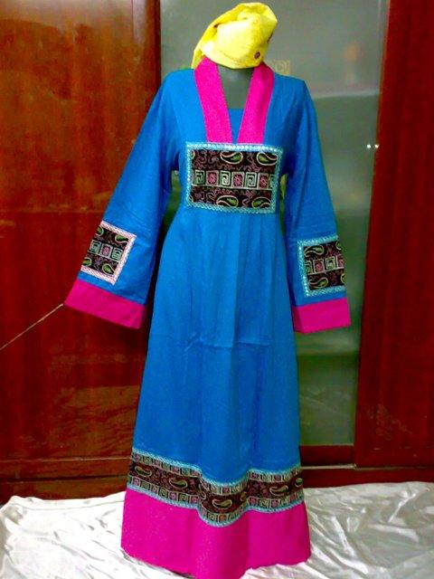 بالصور جلابية مصرية , شكل الجلابية المصرية كلبس بيتى جميل 2600 2