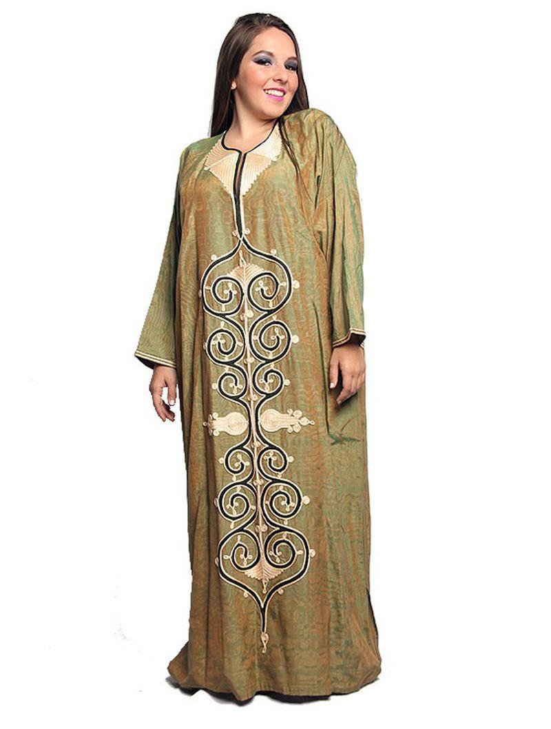 بالصور جلابية مصرية , شكل الجلابية المصرية كلبس بيتى جميل 2600 4