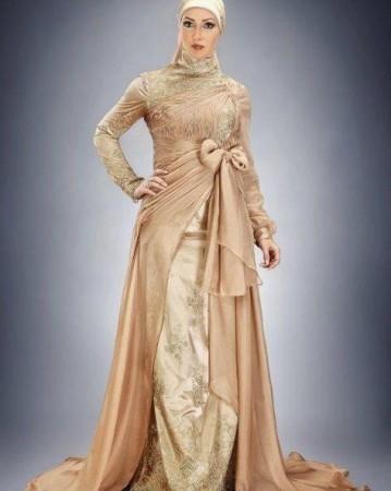 بالصور فساتين طويله فخمه , جمال الفساتين الطويلة وشياكتها على الفتاة 2684 12