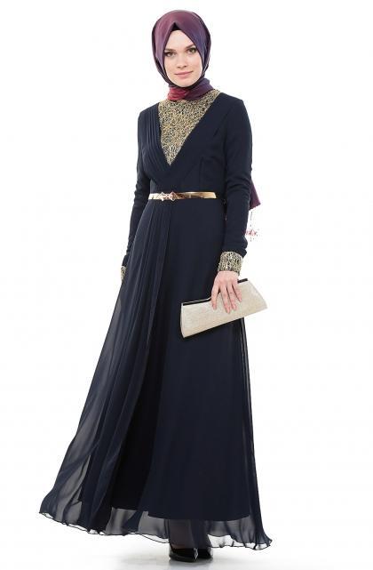 بالصور فساتين طويله فخمه , جمال الفساتين الطويلة وشياكتها على الفتاة 2684 2
