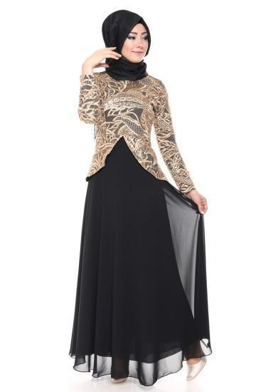 بالصور فساتين طويله فخمه , جمال الفساتين الطويلة وشياكتها على الفتاة 2684 3