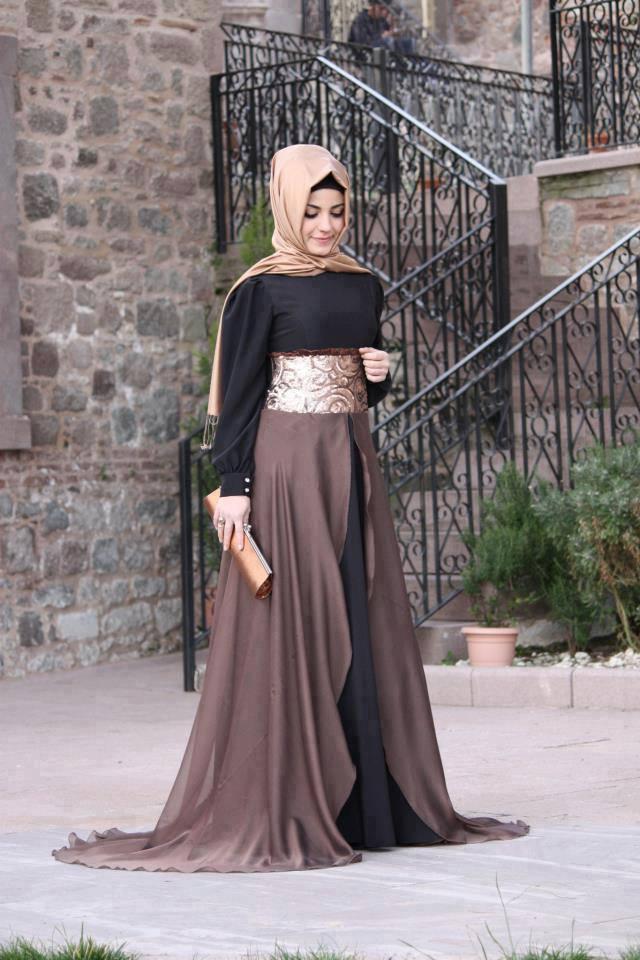 بالصور فساتين طويله فخمه , جمال الفساتين الطويلة وشياكتها على الفتاة 2684