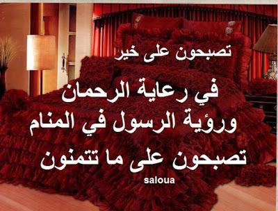 بالصور مسجات تصبحون على خير اسلامية , عبارات دينية جميلة للنوم 2760 5