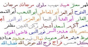 صورة اسماء اولاد غريبة ونادرة , اندر ما اطلق من اسماء