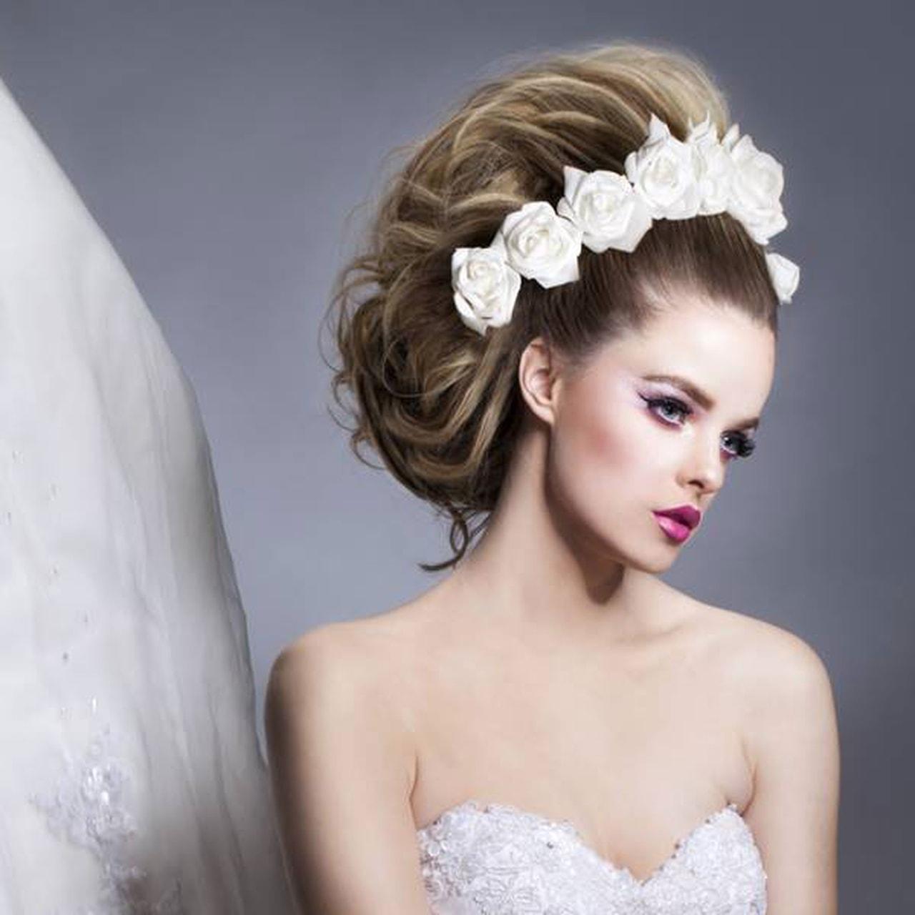 بالصور احلى تسريحه عروس , تسريحه شعر العروسه 2846 13