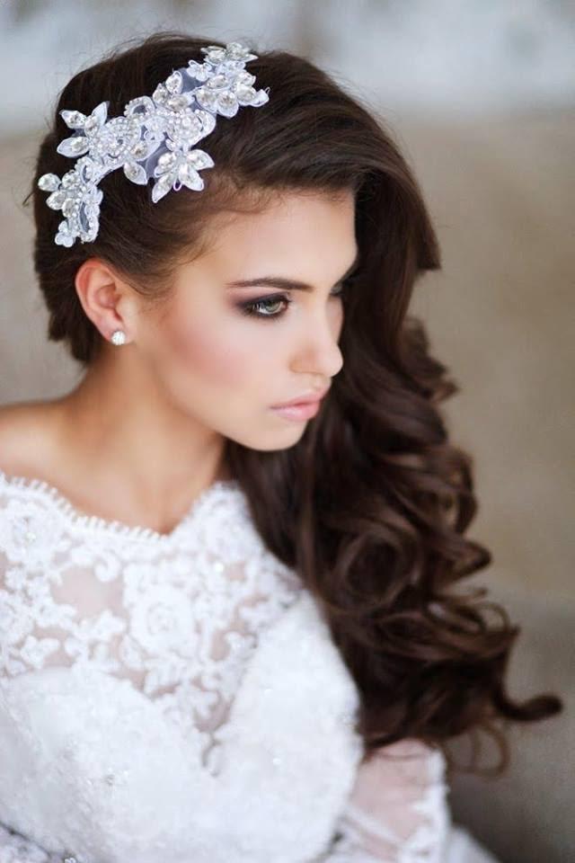 بالصور احلى تسريحه عروس , تسريحه شعر العروسه 2846 15