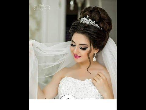 بالصور احلى تسريحه عروس , تسريحه شعر العروسه 2846 9