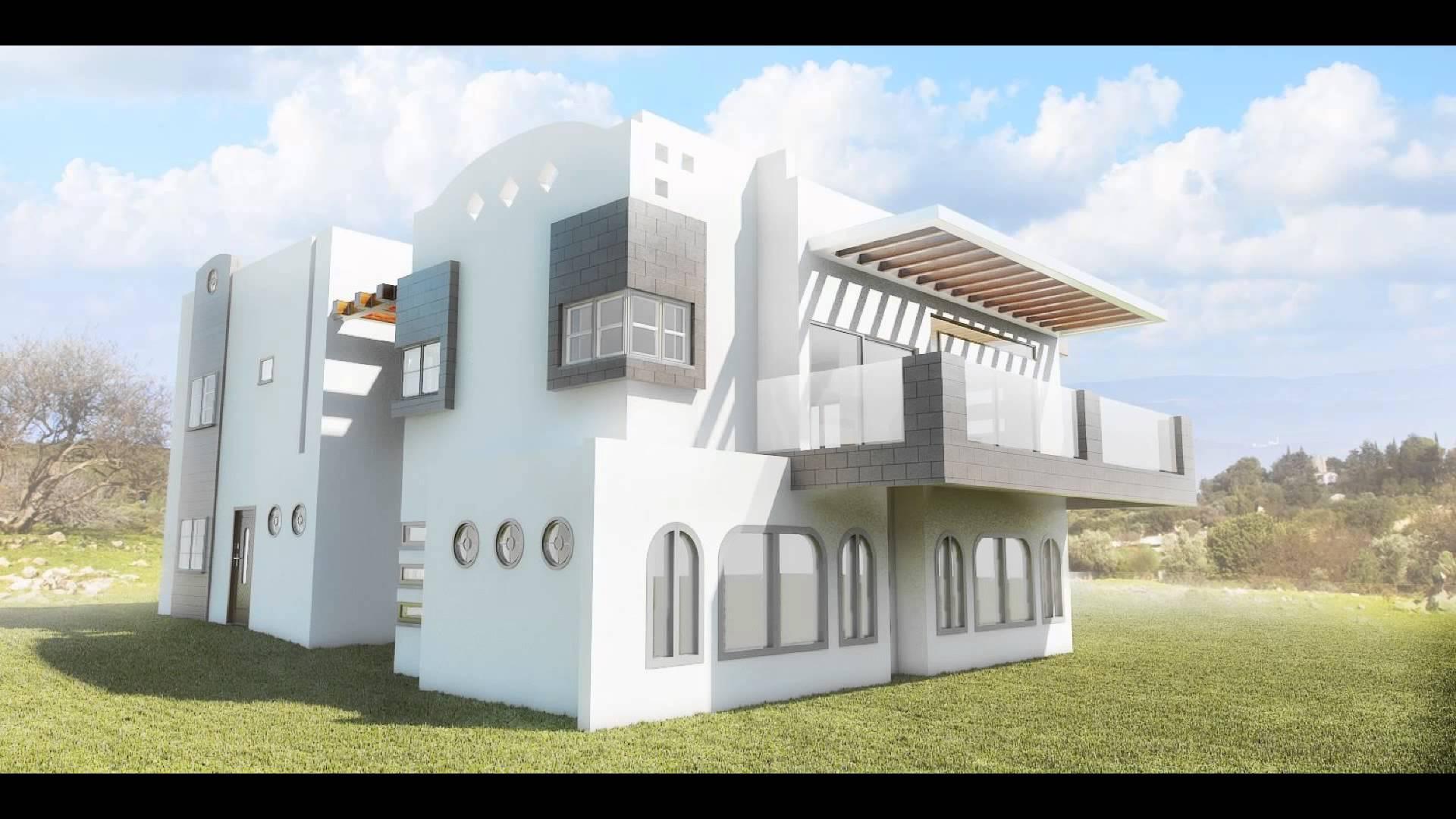 بالصور تصميم منازل , اناقه التصميم الخارجى للمنزل 2868 10