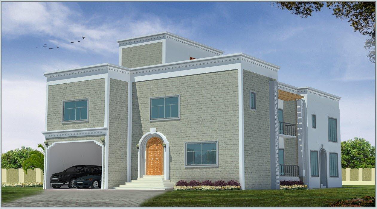 بالصور تصميم منازل , اناقه التصميم الخارجى للمنزل 2868 11