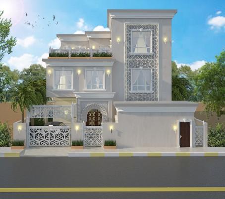 بالصور تصميم منازل , اناقه التصميم الخارجى للمنزل 2868 5