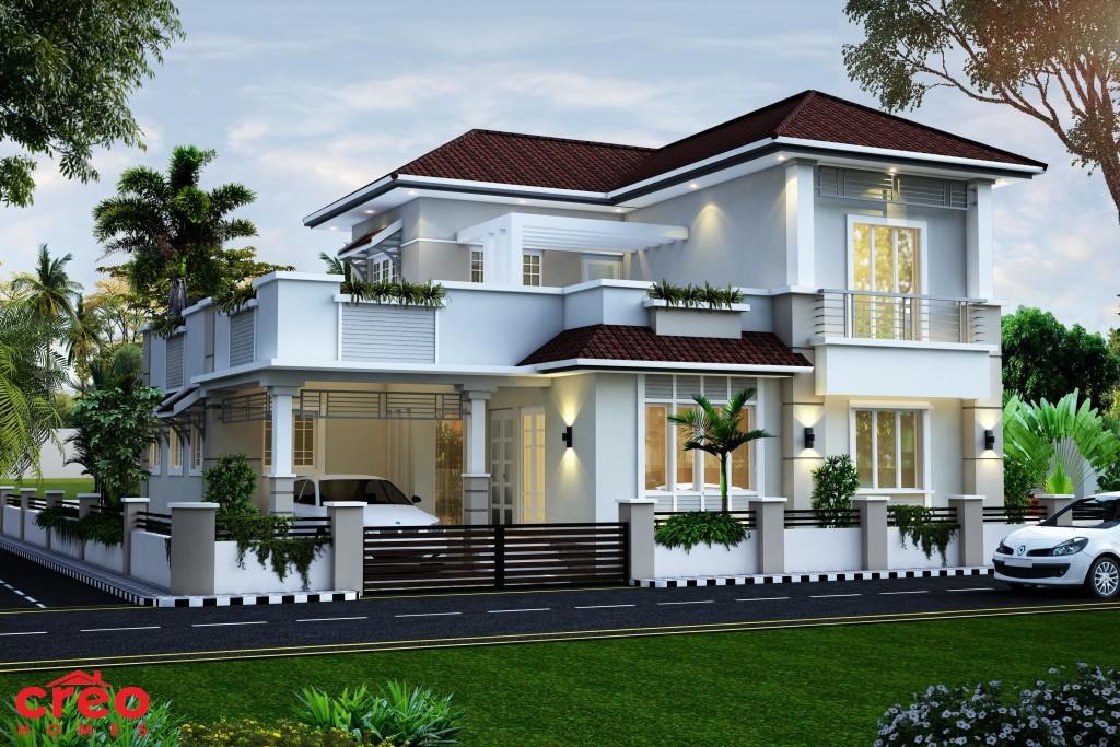 بالصور تصميم منازل , اناقه التصميم الخارجى للمنزل 2868 8