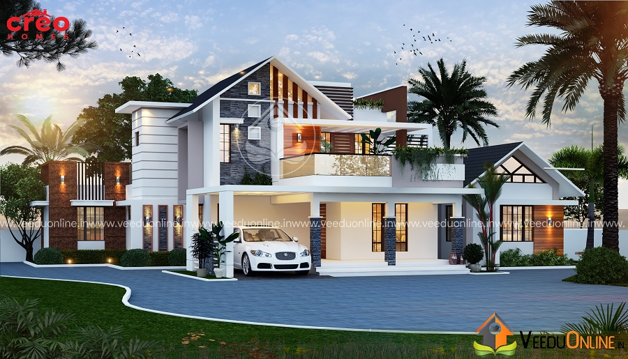 بالصور تصميم منازل , اناقه التصميم الخارجى للمنزل 2868 9