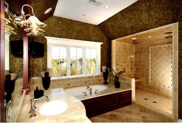 بالصور ديكورات الحمامات , ديكورات متنوعة للحمامات الحديثة 3067 6