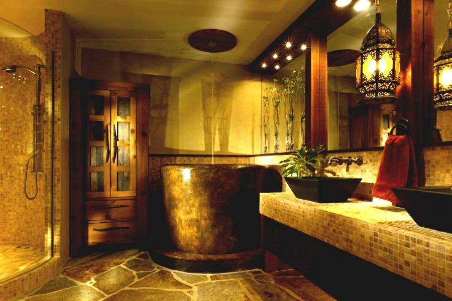 بالصور ديكورات الحمامات , ديكورات متنوعة للحمامات الحديثة 3067 9