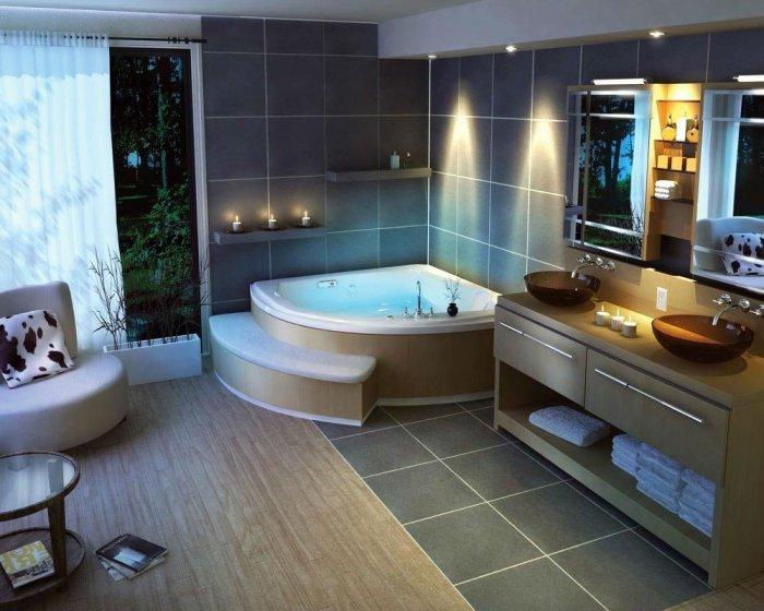بالصور ديكورات الحمامات , ديكورات متنوعة للحمامات الحديثة 3067