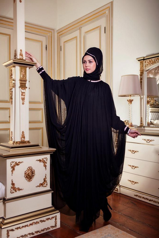 بالصور عباية سعودية , احدث الموديلات للعبايات السعودية الانيقة 3553 1