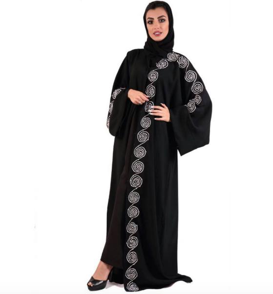 بالصور عباية سعودية , احدث الموديلات للعبايات السعودية الانيقة 3553 2