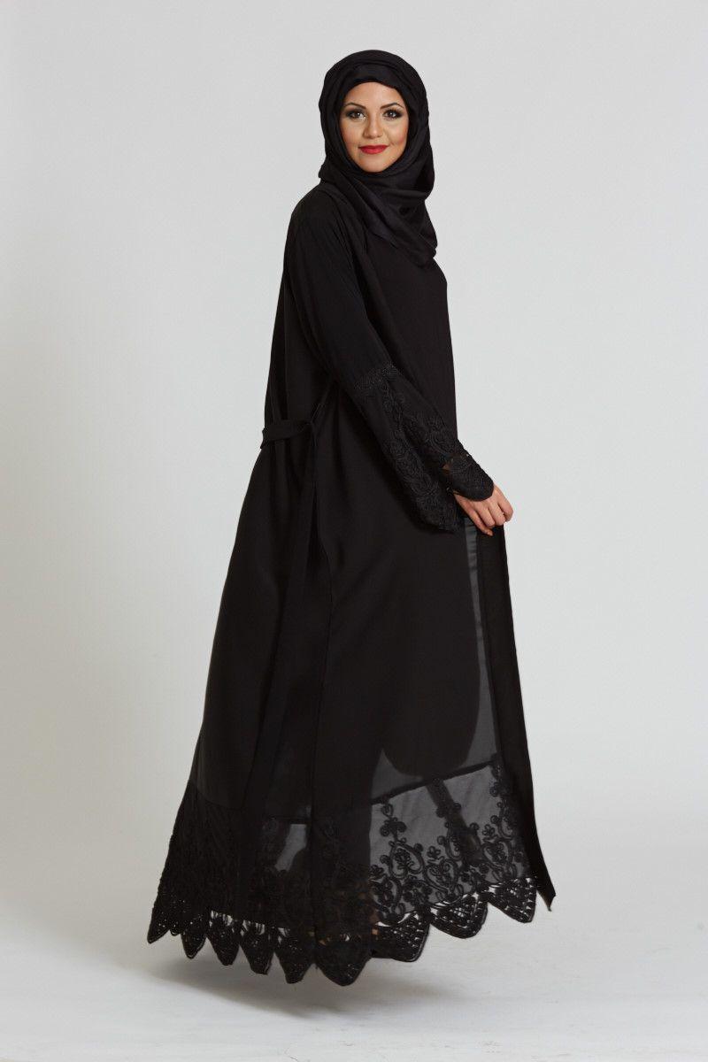 بالصور عباية سعودية , احدث الموديلات للعبايات السعودية الانيقة 3553 9