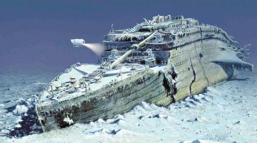 بالصور سفينة تيتانيك , صور مختلفة للسفينة الغارقة تيتانيك 3562 9