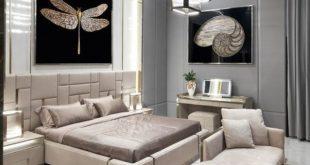 بالصور ديكورات غرف نوم 2019 , تصميمات حديثة ورائعة لغرف النوم 777 12 310x165