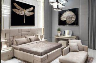 صورة ديكورات غرف نوم 2019 , تصميمات حديثة ورائعة لغرف النوم